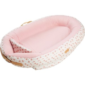 Позиционер для сна Voksi Матрасик кокон Baby Nest Premium Rose Moon 11005053