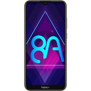 Смартфон Honor 8A 2/32GB Gold смартфон honor 8a blue 2 32