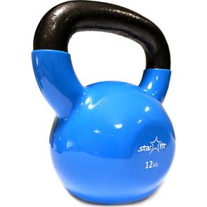 Гиря Starfit виниловая DB-401 12 кг, синяя