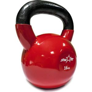Гиря Starfit виниловая DB-401 16 кг, красная