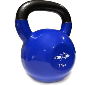 Гиря Starfit виниловая DB-401 24 кг, темно-синяя