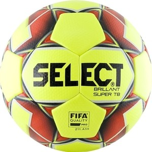 Мяч футбольный Select Brillant Super FIFA TB YELLOW 810316-553 р.5 PRO
