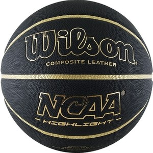 Баскетбольный мяч Wilson NCAA Highlight Gold WTB067519XB07 р.7