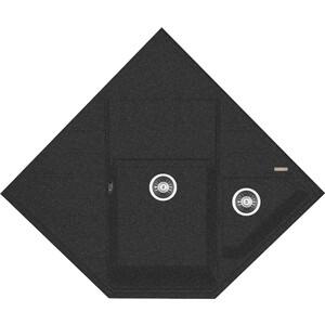 Кухонная мойка Florentina Бомбей 900 черный FG (20.375.J0900.102)