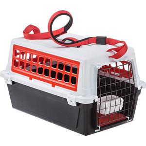 Переноска Ferplast ATLAS 10 TRENDY Plus красная для кошек и собак мелких пород (73027099)
