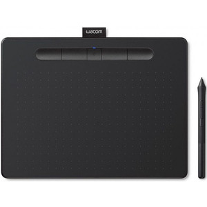 Графический планшет Wacom Intuos M Bluetooth (CTL-6100WLK-N) паутинка клеевая 2 х сторонняяя на бумаге vliesifix t25 sb 25мм х 5м белый freudenberg