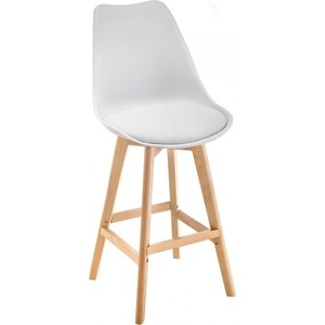 Барный стул Woodville Burbon белый
