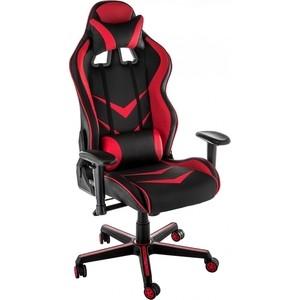 Кресло Woodville Racer черное/красное