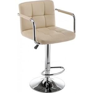 Барный стул Woodville Turit бежевый фото