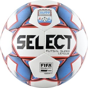 Мяч футзальный Select Super League АМФР 850718-172 р.4 (2019) официальный мяч