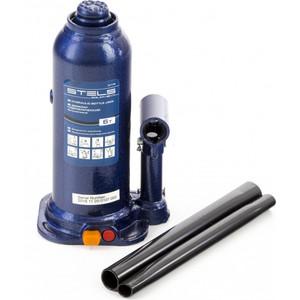 Домкрат гидравлический бутылочный Stels 6 т, h подъема 207-404 мм, в кейсе (51176)