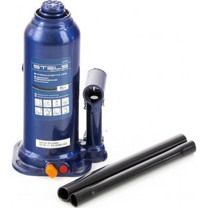 Домкрат гидравлический бутылочный Stels 5 т, h подъема 207-404 мм, в кейсе (51175)