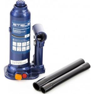 Домкрат гидравлический бутылочный Stels 3 т, h подъема 188-363 мм, в кейсе (51173)