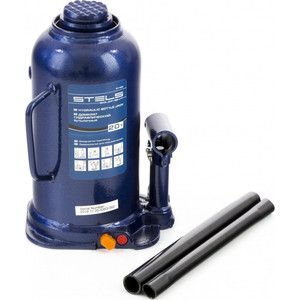Домкрат гидравлический бутылочный Stels 20 т, h подъема 235-445 мм (51169)