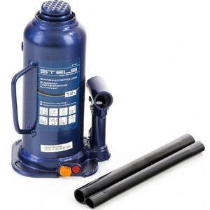Домкрат гидравлический бутылочный Stels 12 т, h подъема 227-457 мм (51167)