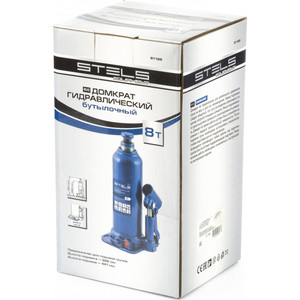 Домкрат гидравлический бутылочный Stels 8 т, h подъема 222-447 мм (51165) 3