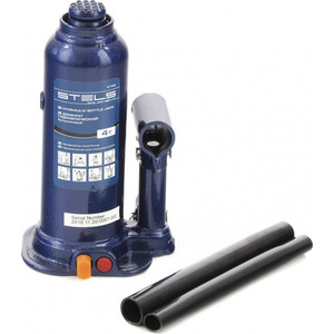 Домкрат гидравлический бутылочный Stels 4 т, h подъема 188-363 мм (51162)