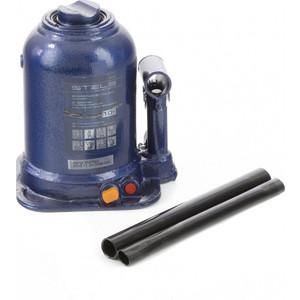 Домкрат гидравлический бутылочный Stels 10 т, подъем 180-450 мм (51148)