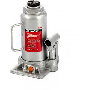 Домкрат гидравлический бутылочный Matrix 12 т, h подъема 230-465 мм (50768)