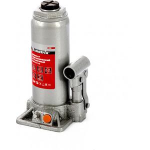 Домкрат гидравлический бутылочный Matrix 8 т, h подъема 230-457 мм (50766) цена