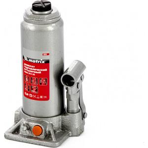 Домкрат гидравлический бутылочный Matrix 6 т, h подъема 216-413 мм (50765)
