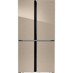 лучшая цена Холодильник Hiberg RFQ-500DX NFGY
