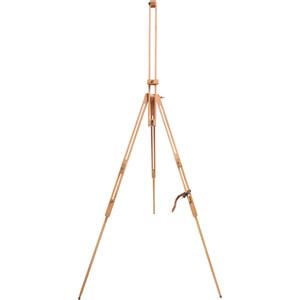 Мольберт BRAUBERG ART CLASSIC, тренога, бук, высота холста 106 см, 190651