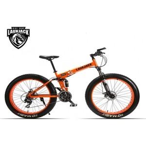 Велосипед LauxJack фэтбайк 26 складной резина 4.0 оранжевый