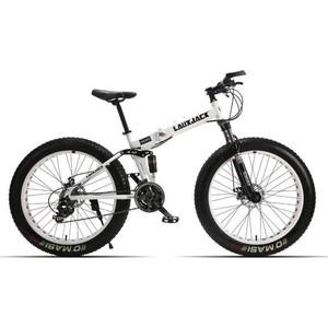 Велосипед LauxJack фэтбайк 26 складной резина 4.0 черный