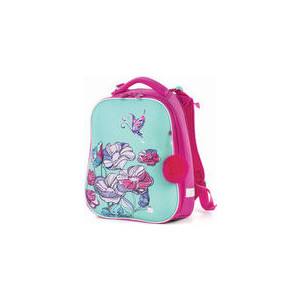 Ранец с жестким каркасом BRAUBERG PREMIUM для девочек, Весенняя мята, 38х29х18 см, 227817 brauberg ранец premium колибри 227821 голубой