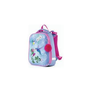 Ранец с жестким каркасом BRAUBERG PREMIUM для девочек, Колибри, 38х29х18 см, 227821 brauberg ранец premium колибри 227821 голубой