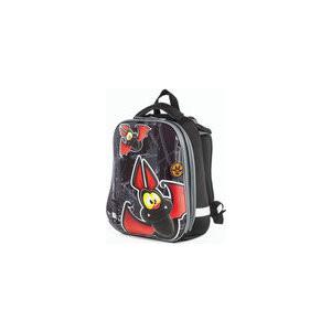Ранец с жестким каркасом BRAUBERG PREMIUM для мальчиков, Летучая мышь, 38х29х18 см, 227820