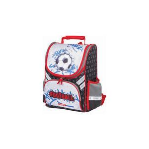 Ранец с жестким каркасом Пифагор Футбольный мяч, 36х28х15 см, 227933