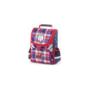 Ранец с жестким каркасом Пифагор Скотч-терьер, 36х28х15 см, 227932