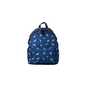 Рюкзак городской BRAUBERG сити-формат, синий, Птицы, 23 литра, 43х34х15 см, 226401