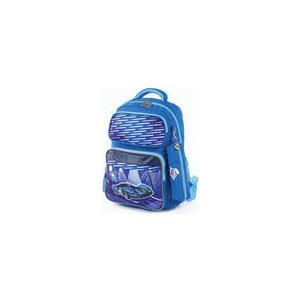 Рюкзак Юнландия с пеналом в комплекте, эрго-спинка, для мальчиков, Машина, 42х29х14 см