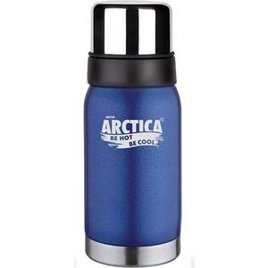Термос 0.5 л Арктика синий с узким горлом 106-500