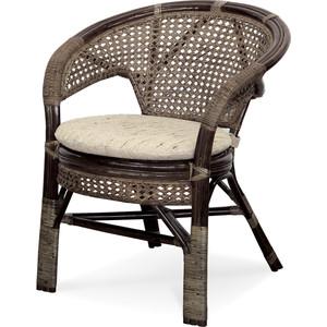 Кресло с подушкой Vinotti 02/15В AR темный коньяк