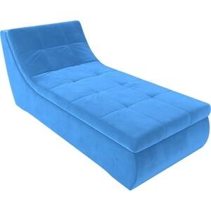 Модуль Лига Диванов Холидей канапе велюр синий модуль лига диванов холидей канапе велюр зеленый