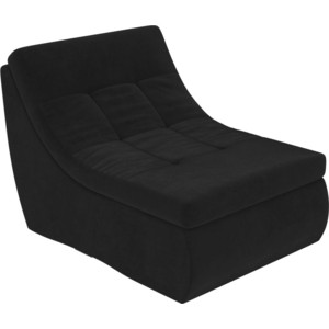 Модуль Лига Диванов Холидей кресло велюр черный