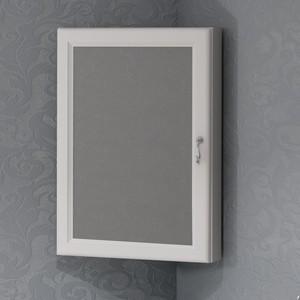 Зеркальный шкаф Opadiris Клио 50 белый бук, угловой, левый (Z0000013939) недорого