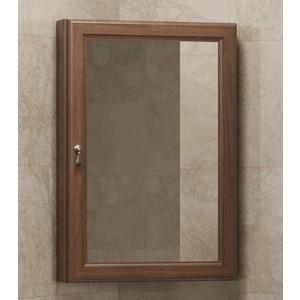 Зеркальный шкаф Opadiris Клио 50 орех антикварный, угловой, правый (Z0000013940) пенал напольный угловой орех антикварный opadiris клио z0000001505
