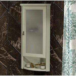 Шкаф Opadiris Клио 32 угловой, правый, с матовым стеклом, слоновая кость 1013 (Z0000014860)
