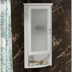 Шкаф Opadiris Клио 32 белый матовый, угловой, левый, с матовым стеклом (Z0000014862) недорого