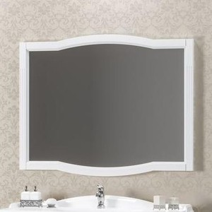 Зеркало Opadiris Лаура 100 белый матовый 9003 (Z0000012819)