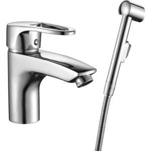 Смеситель для раковины Decoroom с гигиеническим душем (DR67015)