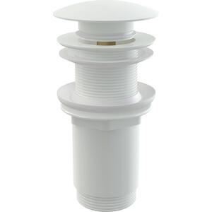 Донный клапан AlcaPlast без перелива, белый (A395B) доннный клапан alcaplast для раковины без перелива a396