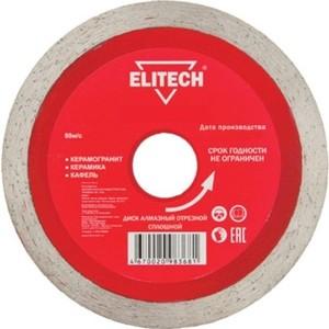 Диск алмазный Elitech d 250x25.4x2.4 мм (1110.008100)
