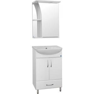 цены на Мебель для ванной Style line Эко Стандарт №9/1Б белая  в интернет-магазинах