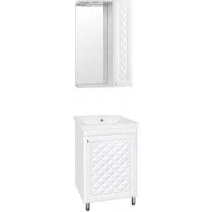 Мебель для ванной Style line Канна Люкс 50 белая